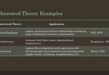 examples of borrowed theories in nursing